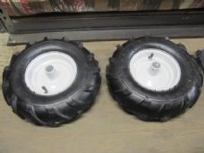 Replacement Neilsen Rotavator Wheel Set. Full Set of Two Spare Tiller Tyres.